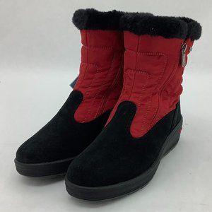 Pajar | Women's Ice Gripper Winter Boots | Red